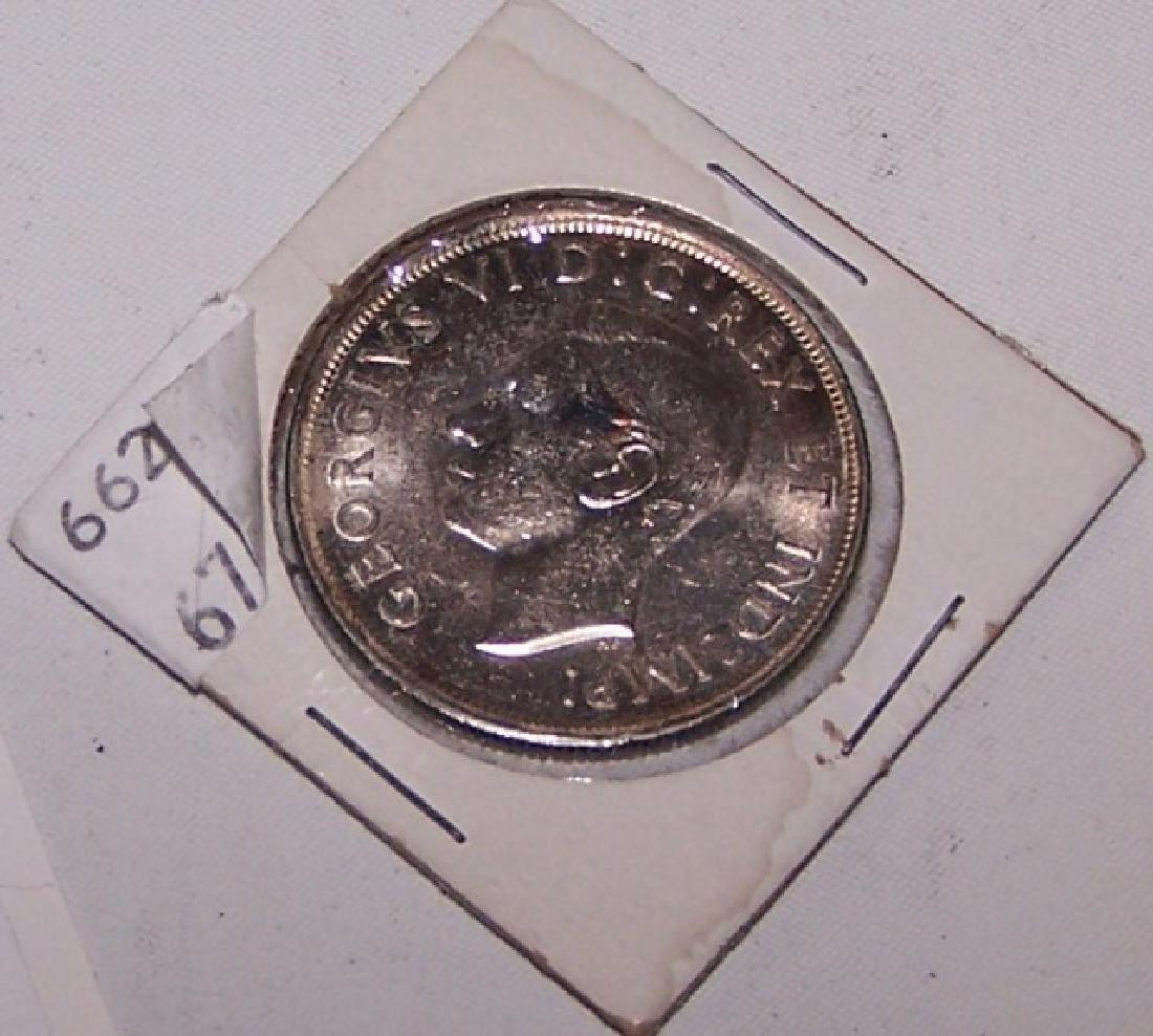 *1937 CANADA SILVER DOLLAR