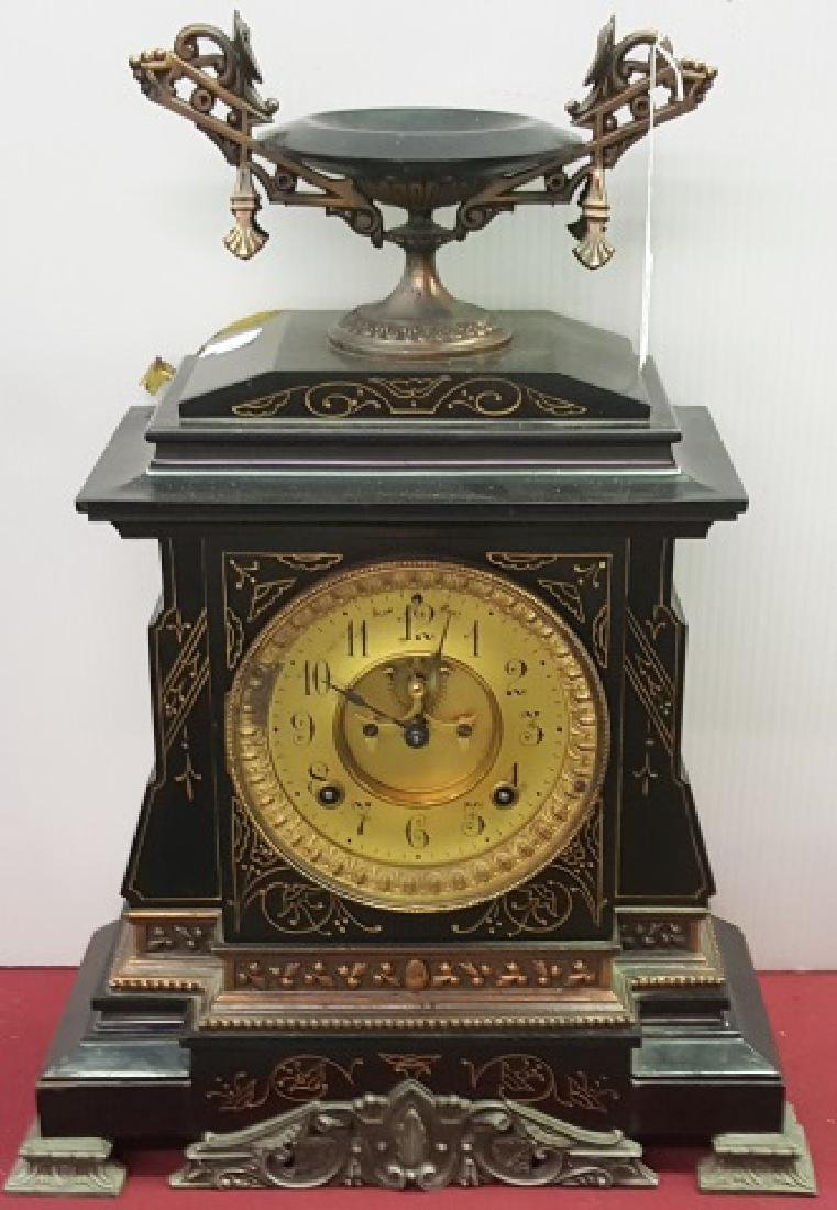 *EARLY 20TH C. MANTEL CLOCK - 3