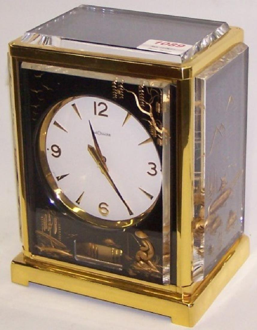 *LE COULTRE CHINOISERIE ATMOS CLOCK