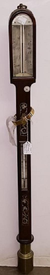 *MID 19TH C. STICK BAROMETER