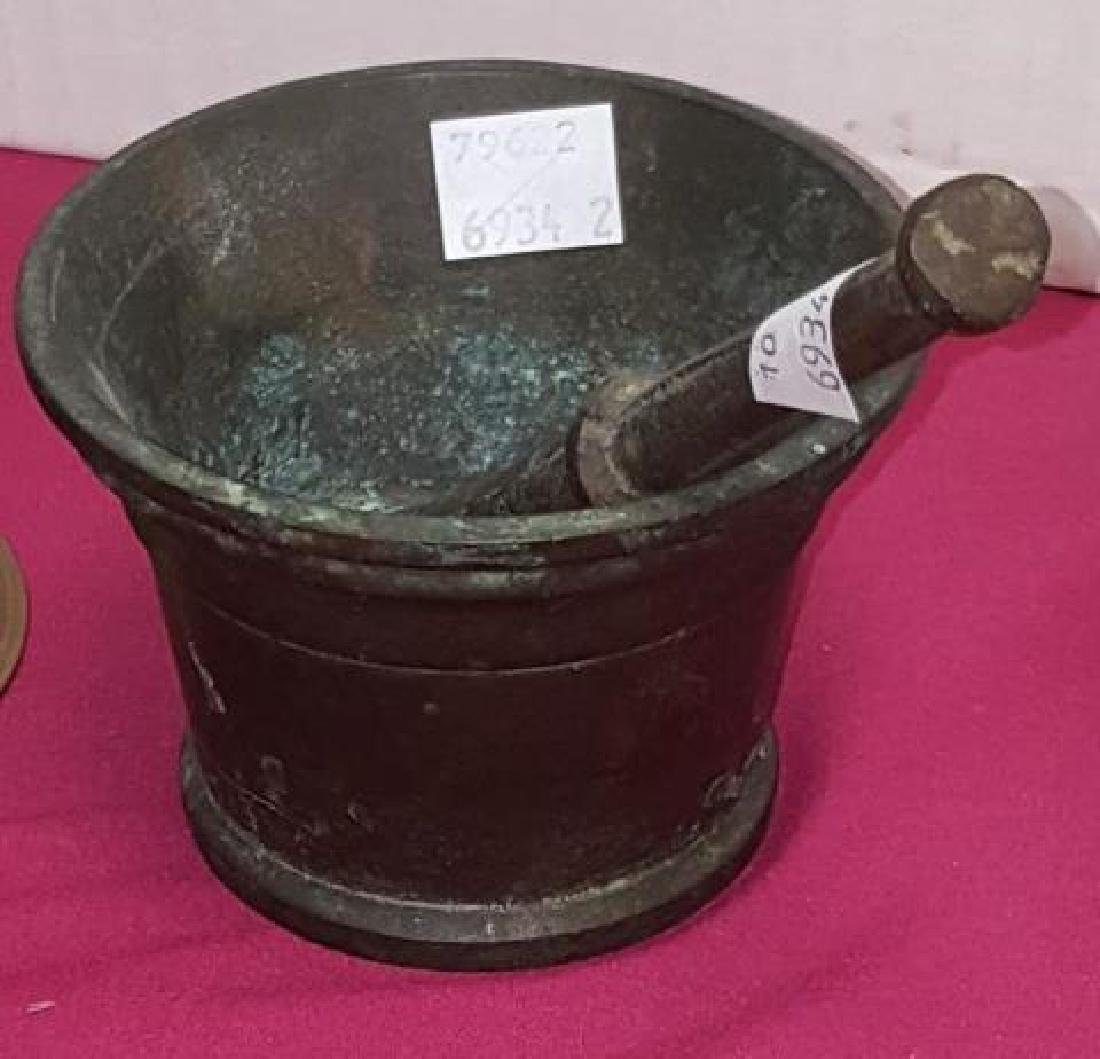 *19TH C. MORTAR AND PESTLE