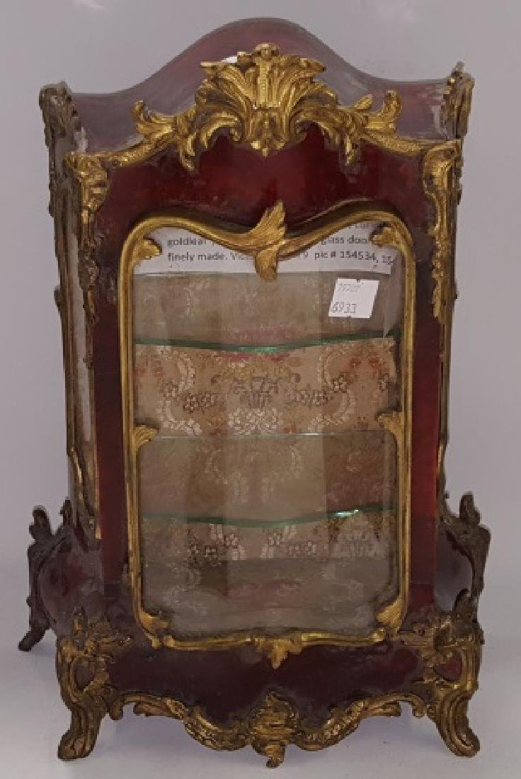 *19TH C. FRENCH TABLE-TOP VITRINE