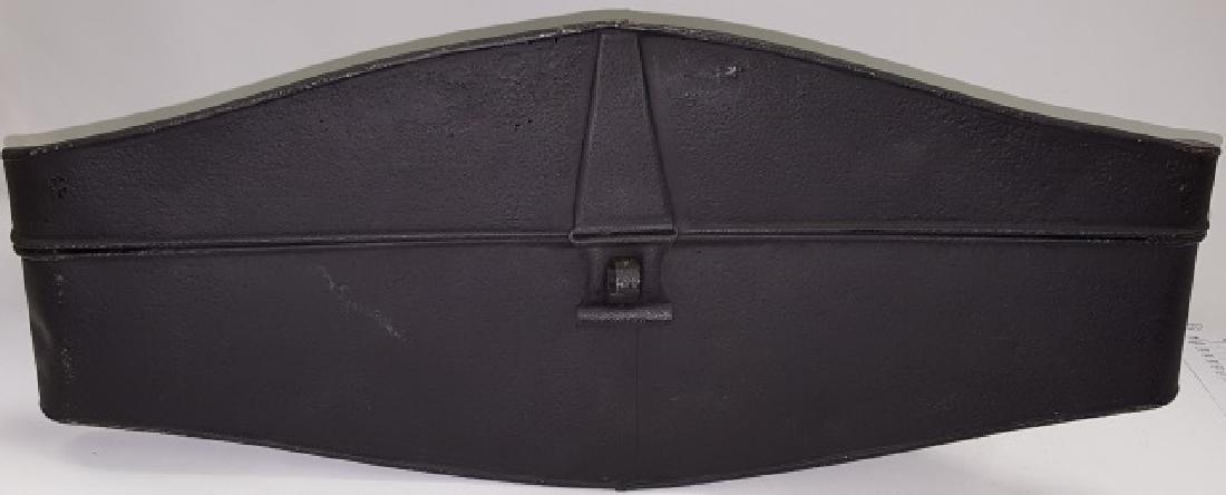 *MID 18TH C. BICORN NAVY HAT - 4