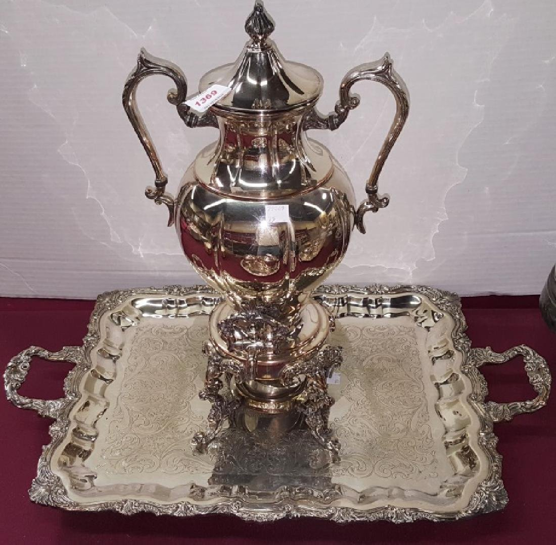 *2 PIECES OF SILVERPLATE