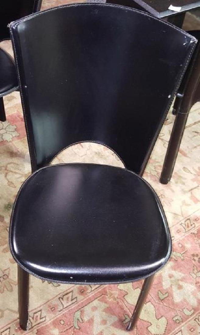 SET OF 8 SIDE CHAIRS