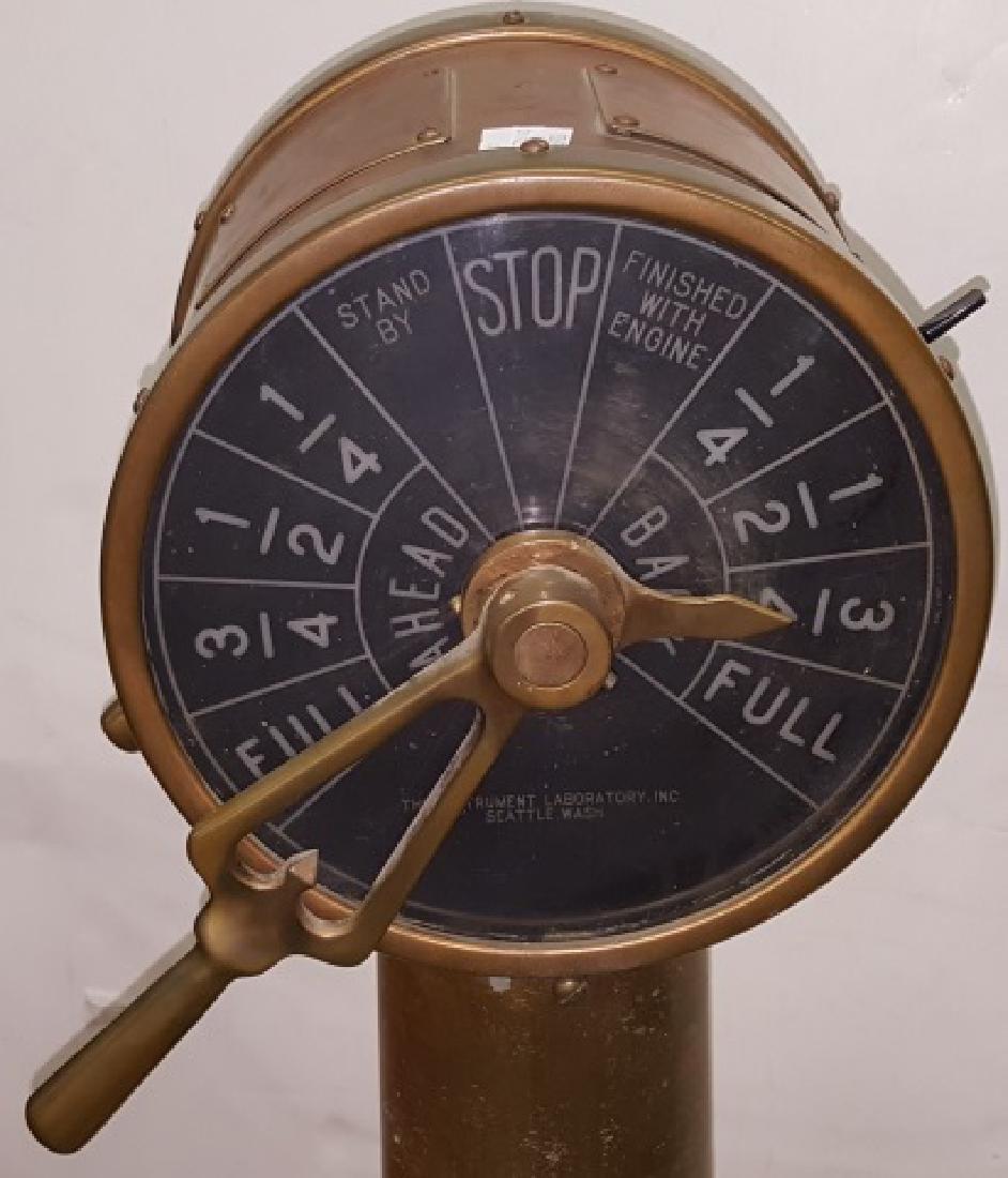 *19TH C. SHIP'S TELEGRAPH - 2