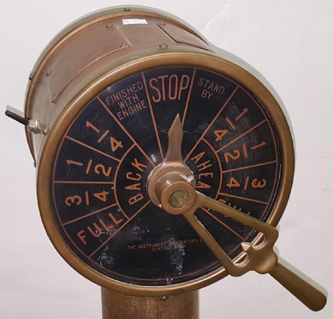 *19TH C. SHIP'S TELEGRAPH - 5
