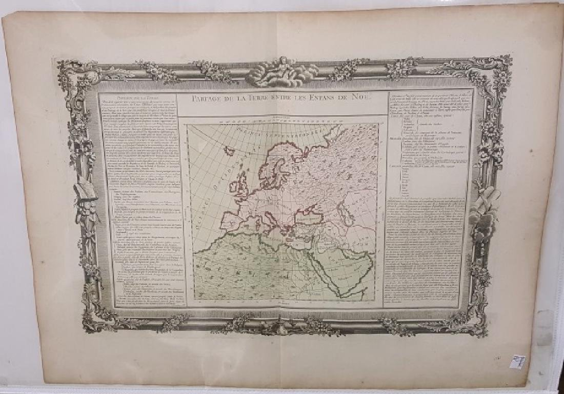 *18TH C. FRENCH MAP