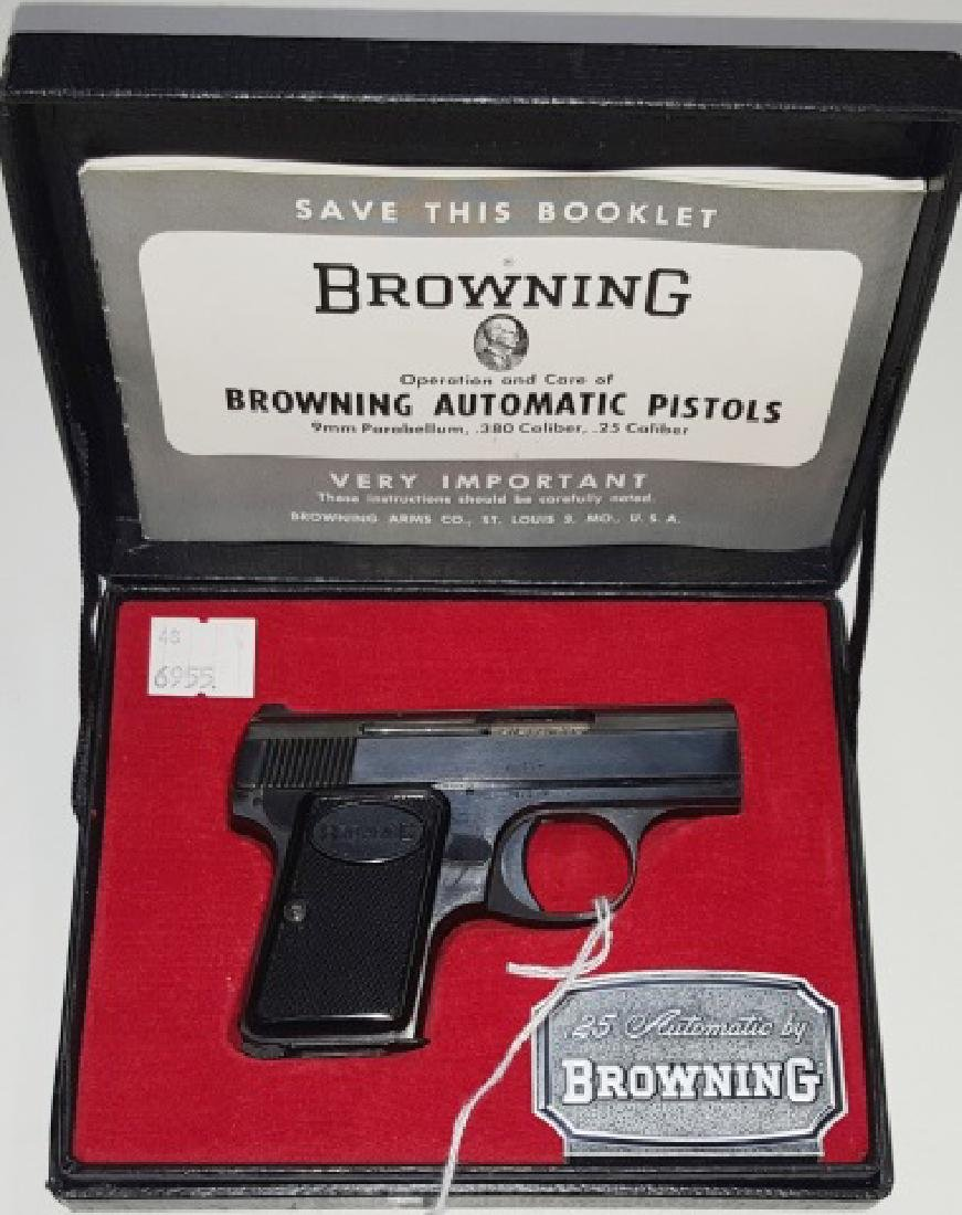 *BABY BROWNING 25 SEMI-AUTOMATIC PISTOL