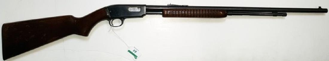 WINCHESTER .22 PUMP ACTION RIFLE