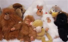 *GROUP OF STUFFED ANIMALS