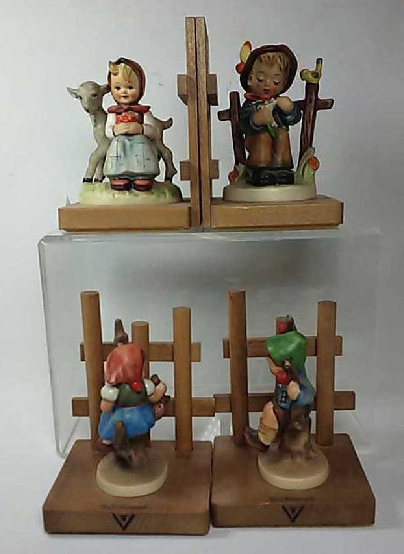 *2 PAIR OF HUMMEL BOOKENDS