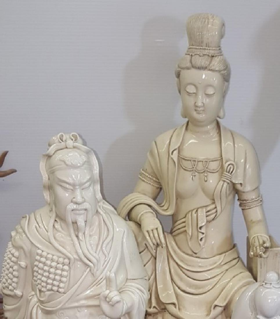 *5 CHINESE PORCELAIN FIGURES - 3