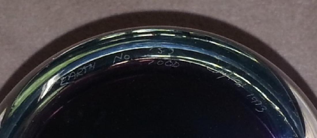 *3 ART GLASS PAPERWEIGHTS - 2