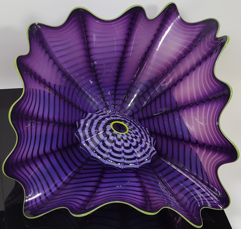 *DALE CHIHULY ART GLASS SCULPTURE - 3