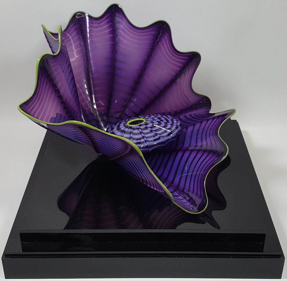 *DALE CHIHULY ART GLASS SCULPTURE - 4