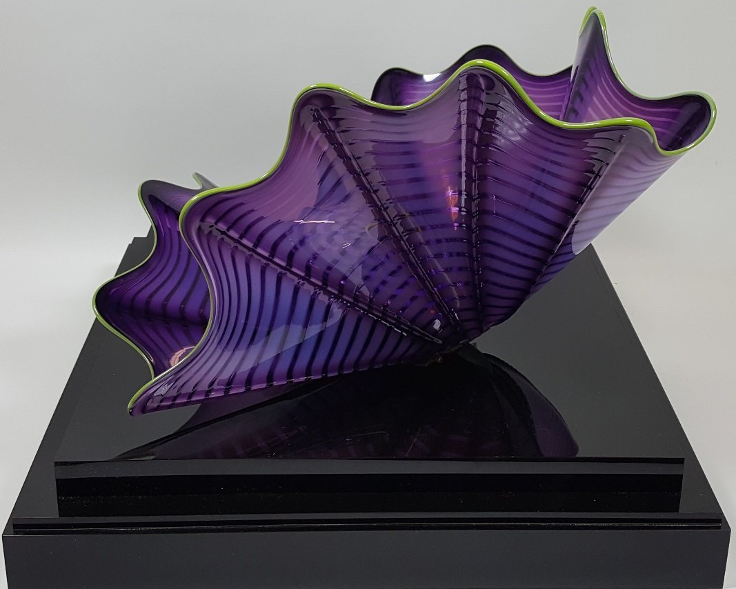 *DALE CHIHULY ART GLASS SCULPTURE - 6
