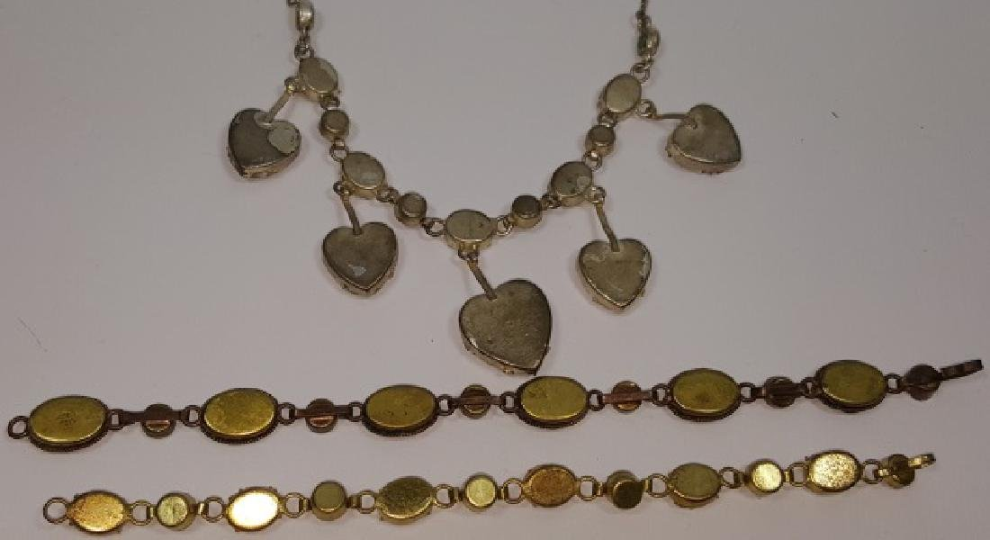 *3 PIECES OF MICRO MOSAIC JEWELRY - 3