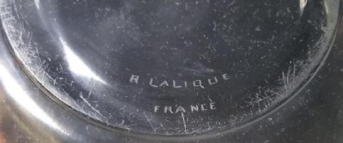 *R. LALIQUE BOWL - 4