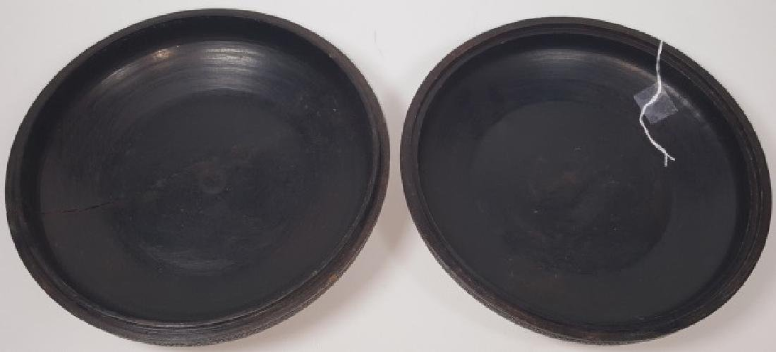 *CHINESE COVERED WOOD BOWL - 3