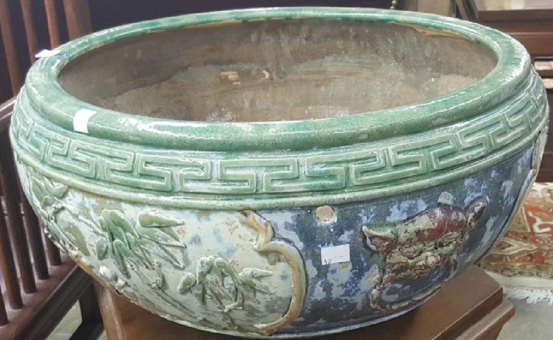 *CHINESE POTTERY BOWL