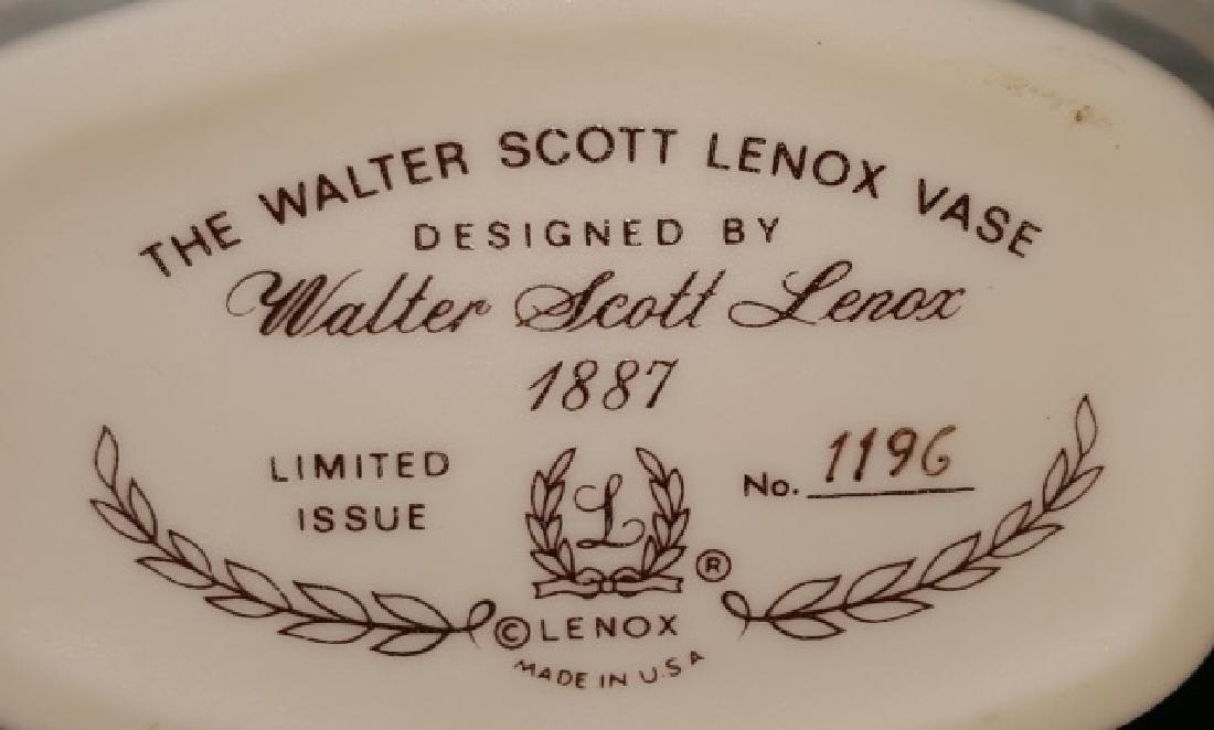 *WALTER SCOTT LENOX VASE - 3