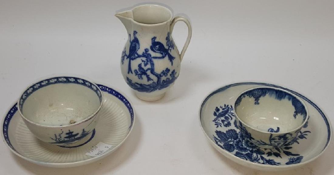 *5 PIECES OF DR. WALL WORCESTER PORCELAIN
