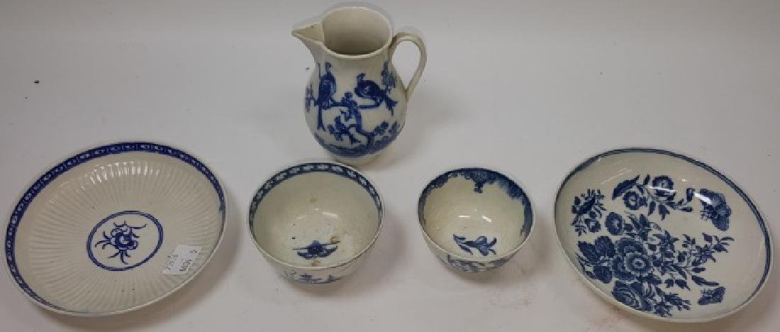 *5 PIECES OF DR. WALL WORCESTER PORCELAIN - 2