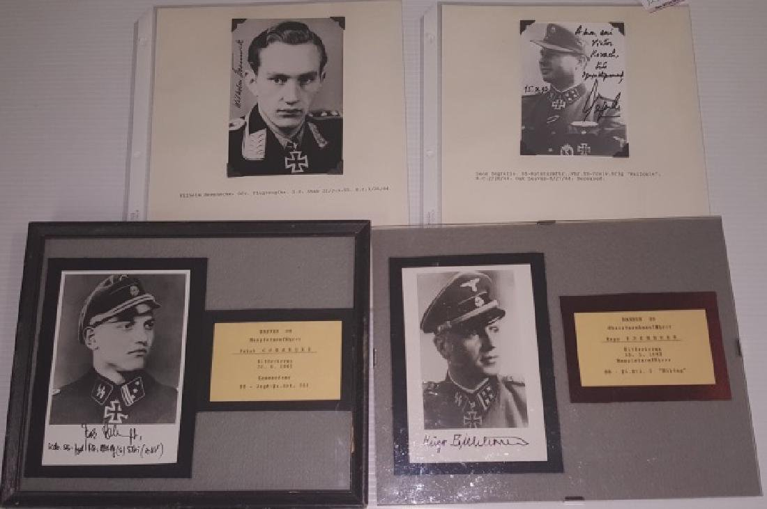 *GROUP OF AUTOGRAPHED PHOTOS