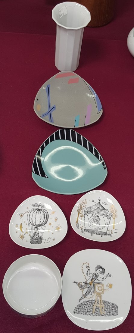 *7 PIECES OF ROSENTHAL