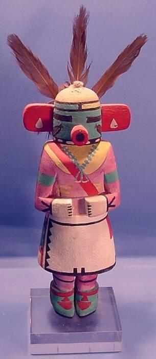 2004: ***QA'O KACHINA - CARVED BY SIDNY SEKAKUKU| Carve