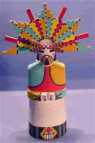***BUTTERFLY KACHINA MAIDEN| Carved and painted i