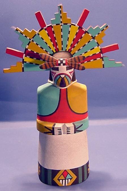 2012: ***BUTTERFLY KACHINA MAIDEN| Carved and painted i