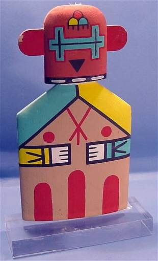 ***CHOWILAWN FLAT POWER KACHINA| With painted dec