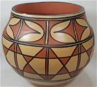 VIDAL AGUILAR POTTERY JAR