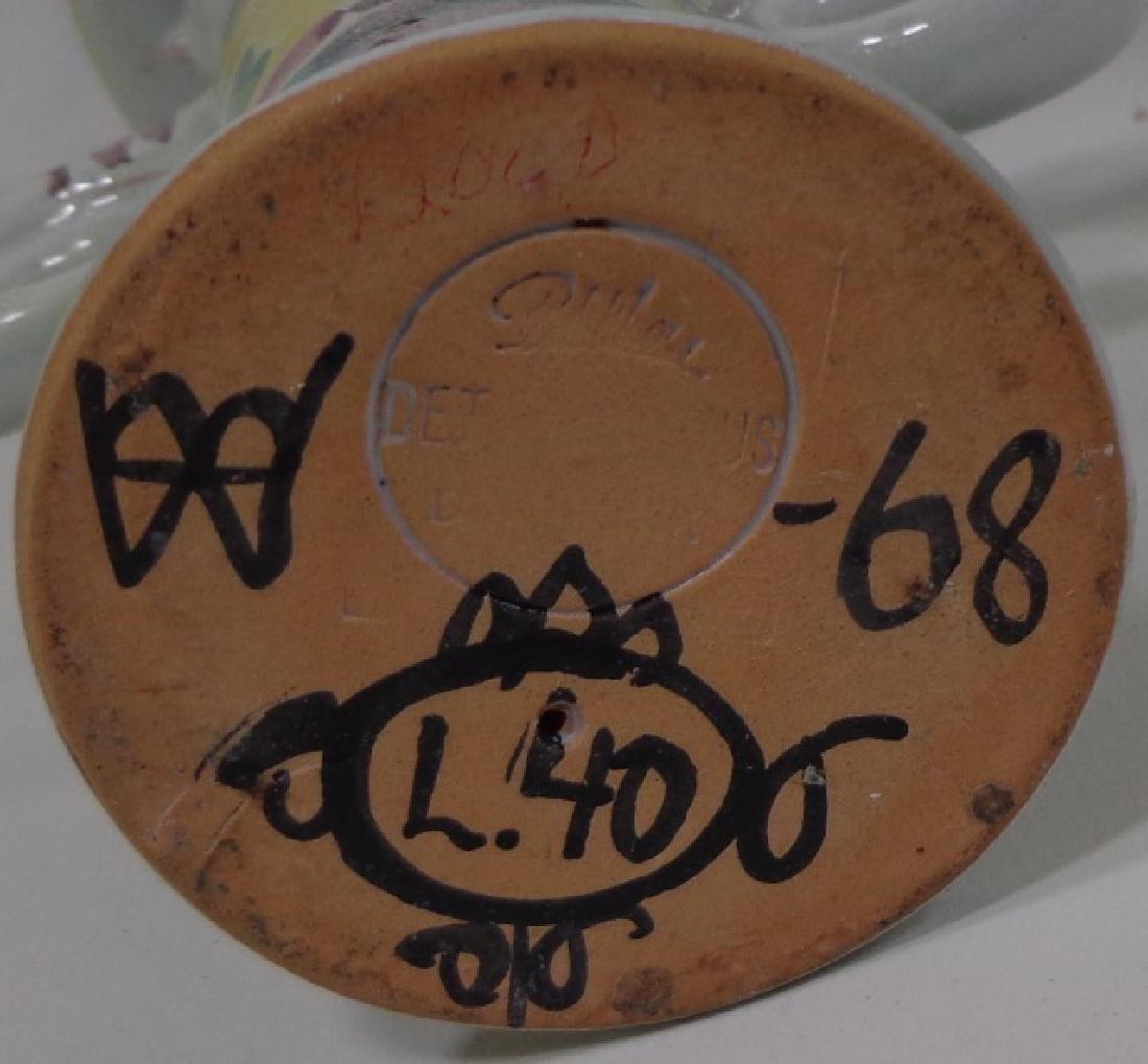 *3 PIECES OF BJORN WIINBLAD ART POTTERY - 2