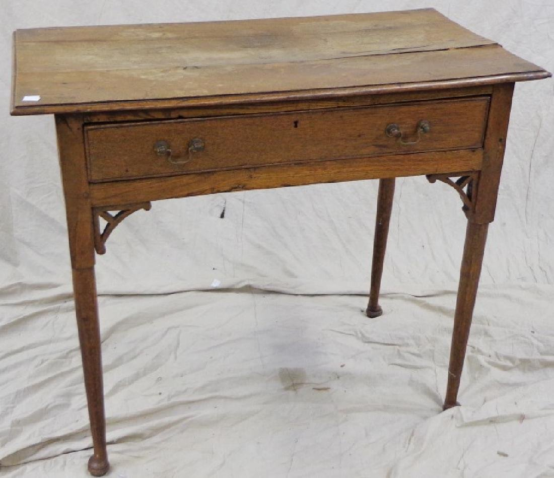 *18TH C. QUEEN ANNE WRITING TABLE