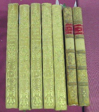 8: ***SAINTE-BEUVE-VOLUPTE  Paris 1834 (1st edit), poor