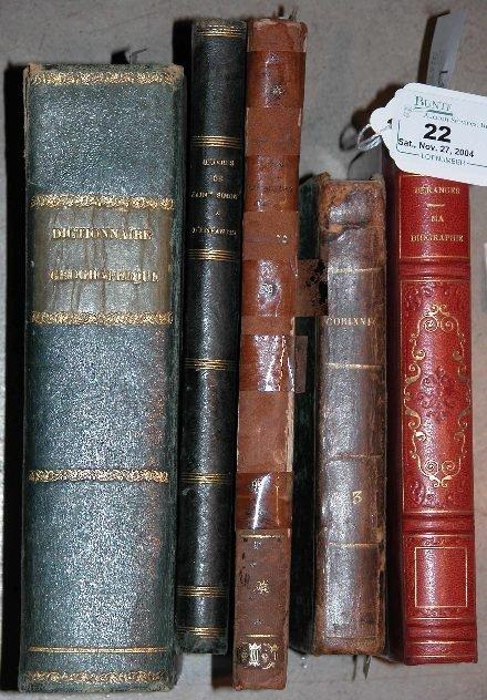 22: ***DE BERANGER-MA BIOGRAPHIE  Paris, n.d. (c 1850),