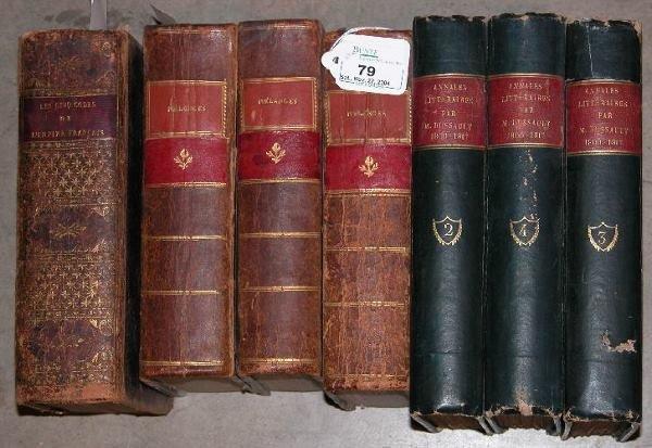 79: ***CODES DE L'EMPIRE FRANCAIS  Paris 1813, 960 pp,