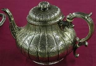 SEVEN PIECE ELKINGTON STERLING SILVER TEA AND CO