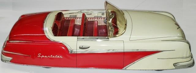 MARX TIN TOY FRICTION CAR