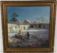 UNKNOWN ARTIST ANTIQUE OIL PAINTING