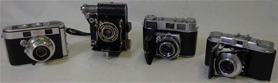GROUP OF 4 CAMERAS