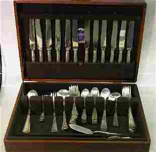 SIXTY-SEVEN PIECE SET OF GORHAM STERLING SILVER F