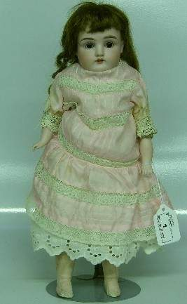 ***KESTNER BISQUE HEAD DOLL| Having open mouth with