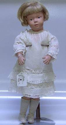 ***SCHOENHUT DOLL| Having painted features with inta