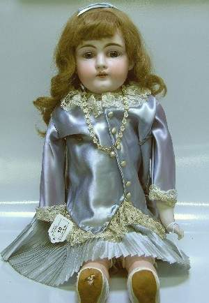 KESTNER BISQUE HEAD DOLL| Having open mouth with te