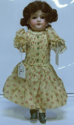 13: ARMAND MARSEILLE BISQUE HEAD DOLL| Having open mout