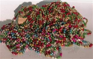 ***GROUP OF BEADED GARLAND| CONDITION: Good.